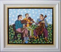 Три музыканта, 45х57