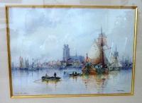 Порт голландии, 56х70