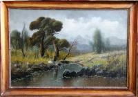 Пейзаж с баобабом, 52х76 (2)